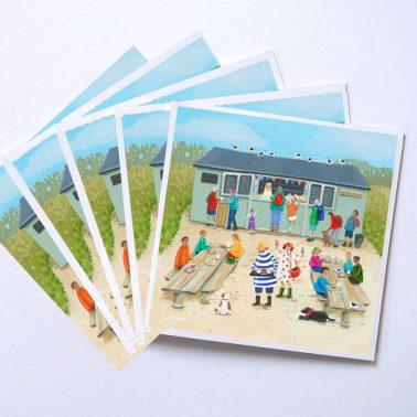 Hidden Hut Cards