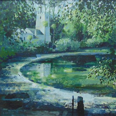 claire_henley-Reflections, St Just in Roseland