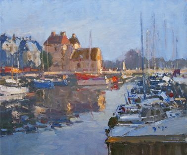 jose_salvaggio-Honfleur Boats